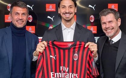 Zlatan Ibrahimovic è di nuovo un giocatore del Milan