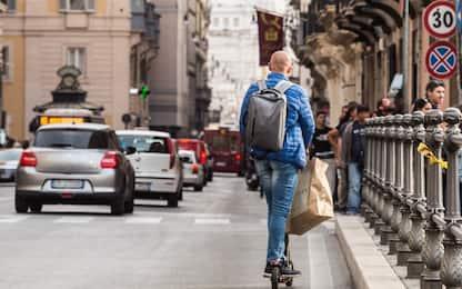 Roma, nuova flotta di 1000 monopattini elettrici in sharing
