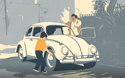 Volkswagen, il commovente addio al Maggiolino in un video