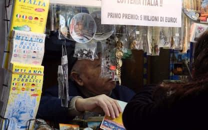 Lotteria Italia in crisi: venduti solo 6,7 milioni di biglietti