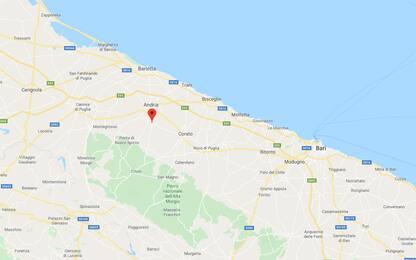 Terremoto ad Andria, scossa di magnitudo 2.7