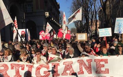 Corteo No Tav, terminata la manifestazione in centro a Torino. VIDEO