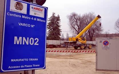 Operaio morto a Milano, nuovo sopralluogo del pm nel tunnel della M4