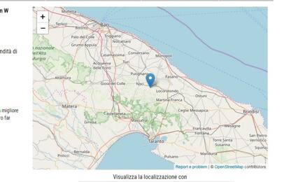 Terremoto Alberobello: scossa di magnitudo 2.2