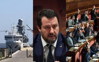 Gregoretti, dallo sbarco negato al voto su Salvini. FOTO