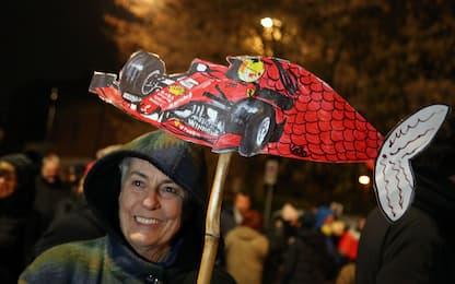 Maranello, manifestazione delle Sardine dopo comizio Salvini