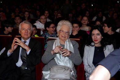 Giornata della Memoria, Liliana Segre agli Arcimboldi