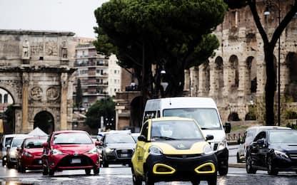 Roma seconda nel mondo per ore perse nel traffico. FOTO