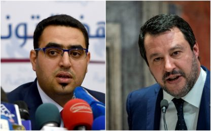 Salvini al citofono, vicepresidente Parlamento Tunisia: Gesto razzista