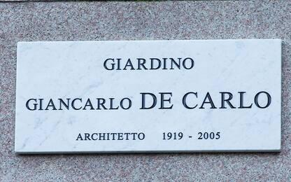 Milano, intitolato all'architetto De Carlo il giardino della Triennale