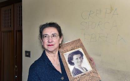 """Scritta antisemita a Torino, la vittima: """"Lascio come testimonianza"""""""