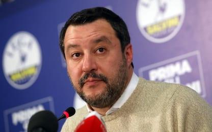 """Caso Gregoretti, Salvini: """"Non penso ci sarà alcuna condanna"""""""