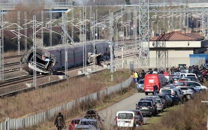 Treno deragliato a Lodi, indagati cinque operai