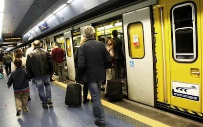 Napoli, allarme per fumo nella stazione metropolitana di Piazza Cavour