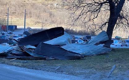 Maltempo, vento record in Piemonte: Acqua Sant'Anna ancora ferma