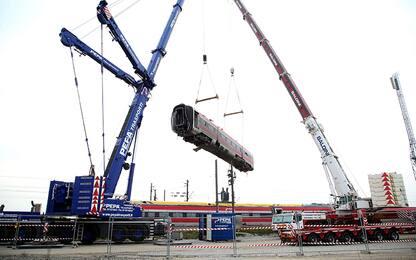 """Treno deragliato a Lodi, Rfi: """"Riapertura prevista per il 2 marzo"""""""