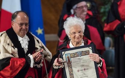 Sapienza, dottorato honoris causa a Liliana Segre. FOTO