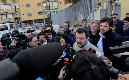 """Salvini: """"Sardine? Dramma vero è l'economia ferma"""""""