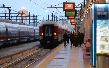 Coronavirus, treni nel caos: ritardi su alta velocità Milano-Napoli
