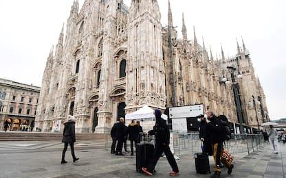 Coronavirus Italia, riapre il Duomo di Milano. FOTO