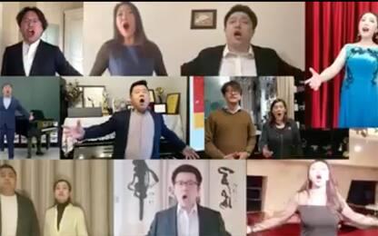"Coronavirus, artisti cinesi cantano ""Nessun Dorma"". VIDEO"