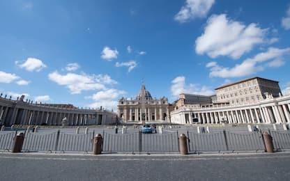 Coronavirus, San Pietro e Roma deserte. FOTO