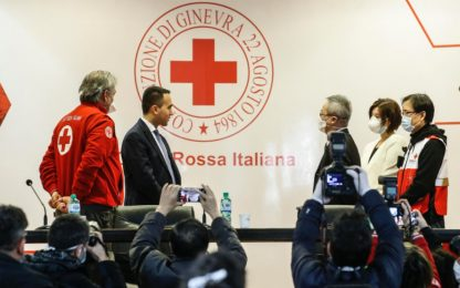 Coronavirus, medici cinesi in Italia. FOTO