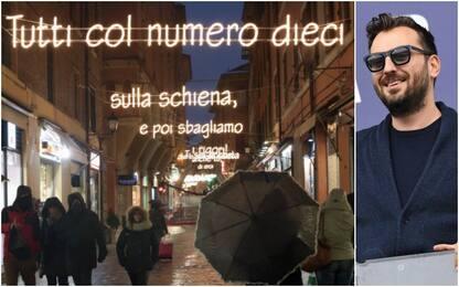 Coronavirus, all'asta luminarie di Cremonini a Bologna per solidarietà