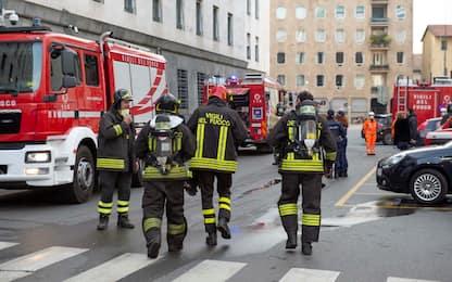 Incendio nel tribunale di Milano, nessun ferito. FOTO