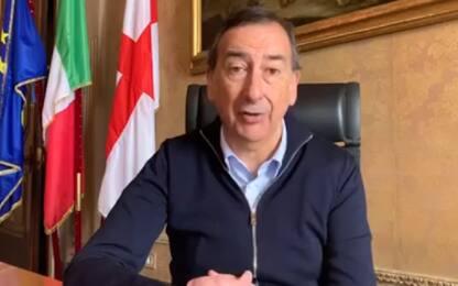 """Coronavirus Milano, Sala: """"Tornare alla normalità con attenzione"""""""