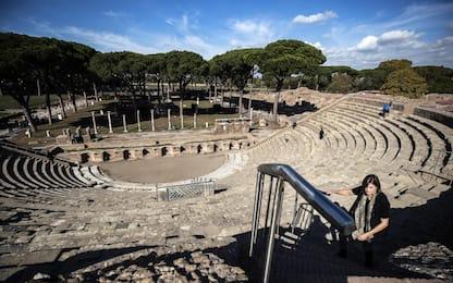 Parco archeologico Ostia Antica è patrimonio europeo. FOTO