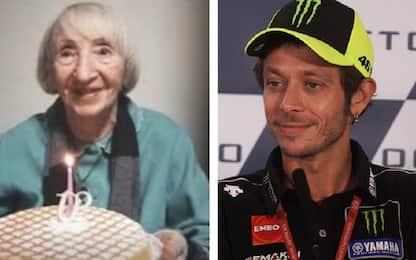 Coronavirus, Valentino Rossi telefona alla donna di 102 anni guarita