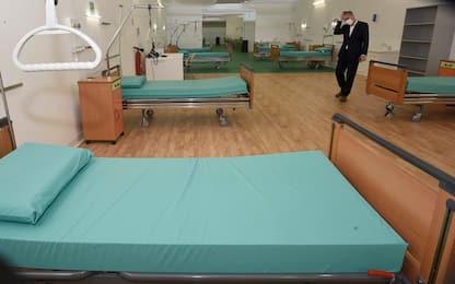 Covid Lombardia, riaprono gli ospedali di Fiera di Milano e di Bergamo