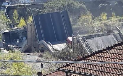 """Crollo ponte, Polstrada: """"Poco traffico per il coronavirus"""""""