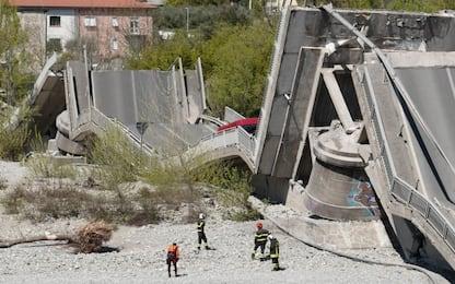 Ponte crollato Aulla, l'ipotesi di reato è disastro colposo