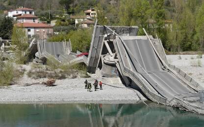 Ponte crollato Albiano, sindaco di Aulla: Anas rassicurava, tutto bene