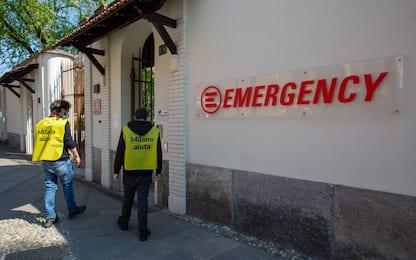 Milano, Emergency assiste gli anziani. FOTO