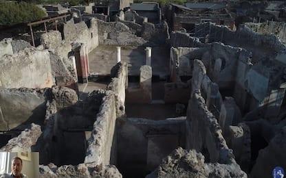 I nuovi scavi di Pompei raccontati in tour virtuale. VIDEO