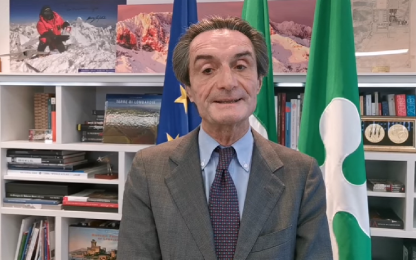 "Covid Lombardia, Fontana: ""Ci avvisano all'ultimo, Roma ci ascolti"""