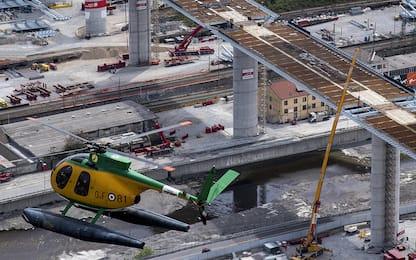 Coronavirus, Genova tra lockdown e lavori per il ponte. FOTO