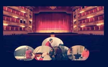 25 aprile, i musicisti della Scala di Milano suonano Bella Ciao. Video