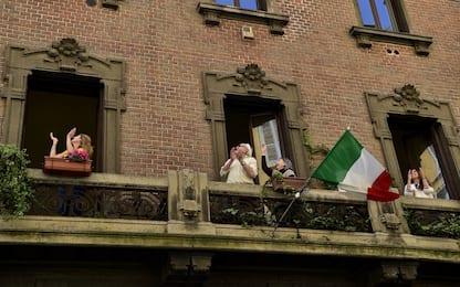 Coronavirus, l'Italia festeggia il 25 aprile in lockdown