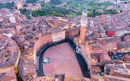 Coronavirus, Siena deserta durante il lockdown. FOTO