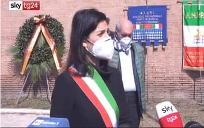 """Roma, 25 Aprile: Virginia Raggi """"Ricordare il valore della comunità"""""""
