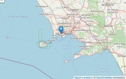 Terremoto a Pozzuoli, tre scosse nella notte: avvertite anche a Napoli