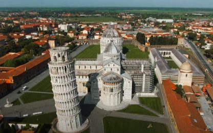 Coronavirus Italia, le immagini di Pisa in lockdown. VIDEO