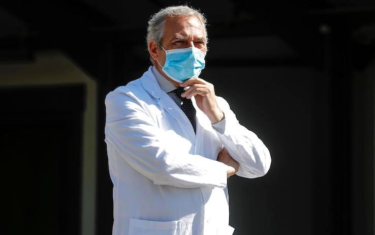 Francesco Vaia, direttore sanitario dell'Ospedale Spallanzani