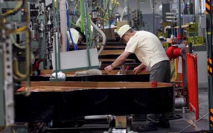 Istat, cresce la produzione industriale in Italia: +,0,8% a febbraio