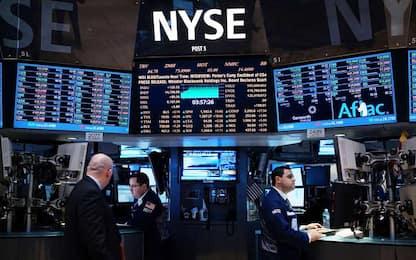 Borse, crollo a Wall Street. Si teme una seconda ondata del virus