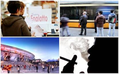 Multe sui mezzi, accise sul fumo, tassa sul gioco: arriva la manovra